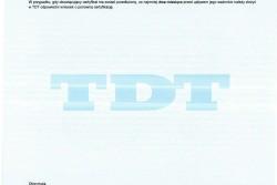 Certyfikat Kwalifikowania Typu wg normy PN-EN ISO 2560-A: E 38 0 RC 2 1