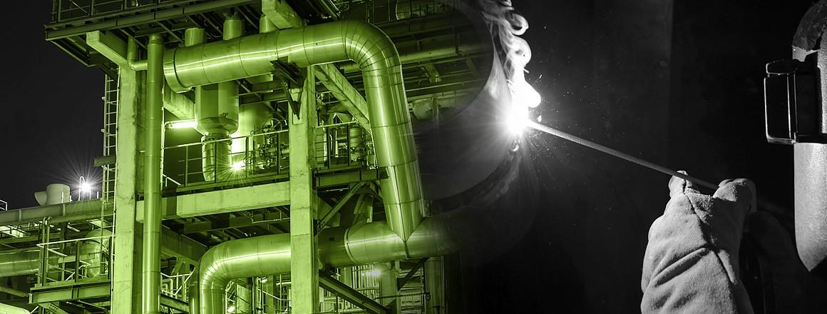 Materiały spawalnicze dla przemysłu chemicznego